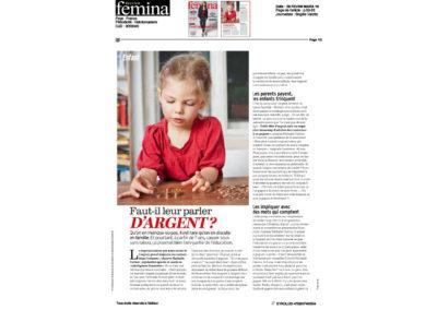 Les parents payent, les enfants trinquent – Femina France