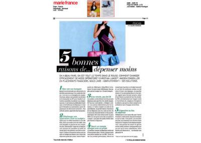 5 bonnes raisons de dépenser moins ! – Marie France