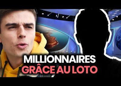 Je rencontre des millionnaires du Loto